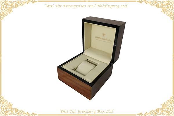 高光木紋噴油錶盒